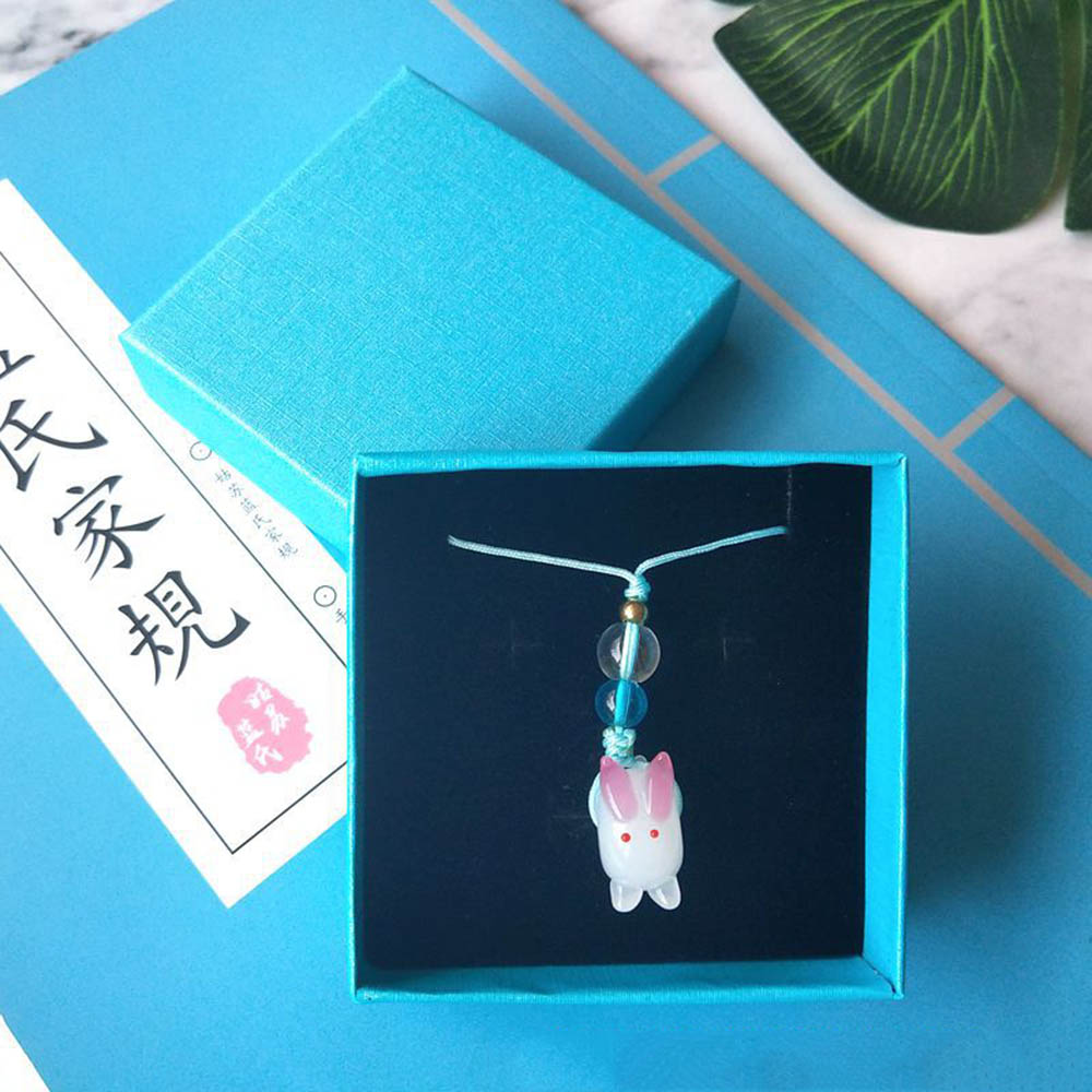 Handmade Diy Chen Qing Ling Phone Pendant Props Cosplay Keychain Key Ring Pendant Toy Gift Handbag Key Ring