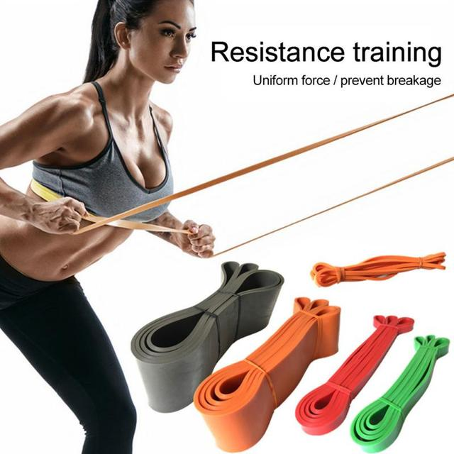Equipment Pilates Sport Workout Bands Yoga Resistance Bands Fitness Rally Ring Training Strength Band Rubber Bands