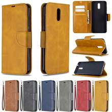 Luxo couro do plutônio caso da aleta para nokia 2.3 carteira caso do telefone para nokia 2.3 nokia2.3 capa coque