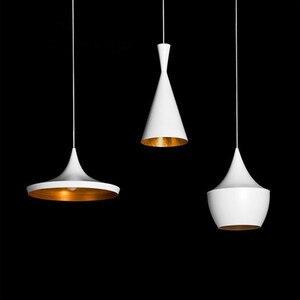 Image 2 - Modern E27 Musical Aluminum copper shade musical pendant lamp ABC(Tall,Fat and Wide) Beat Hanging Light,110V/220V/230V 3pcs/pack