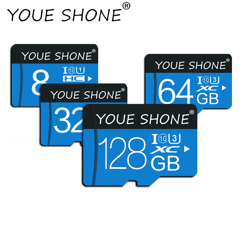 Geheugenkaart 32GB 16GB 8 GB 128 GB 64GB Microsd-kaart C10 Micro TF Sd-kaart 8 16 32 64 128 GB Cartao De Memoria Carte Adapter