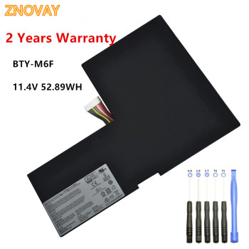 BTY-M6F Laptop Battery for MSI GS60 2PL 2QE 6QE 6QC 6QC-070XCN MS-16H2 11.4V 4640MAH/52.89WH Notebook Battery bottom case for msi gs60 ms 16h2 ms 16h21 ms 16h2c ws60 px60 gs70 gs73 ms 1772d ms 17711 black plastic red 772d612y77 metal