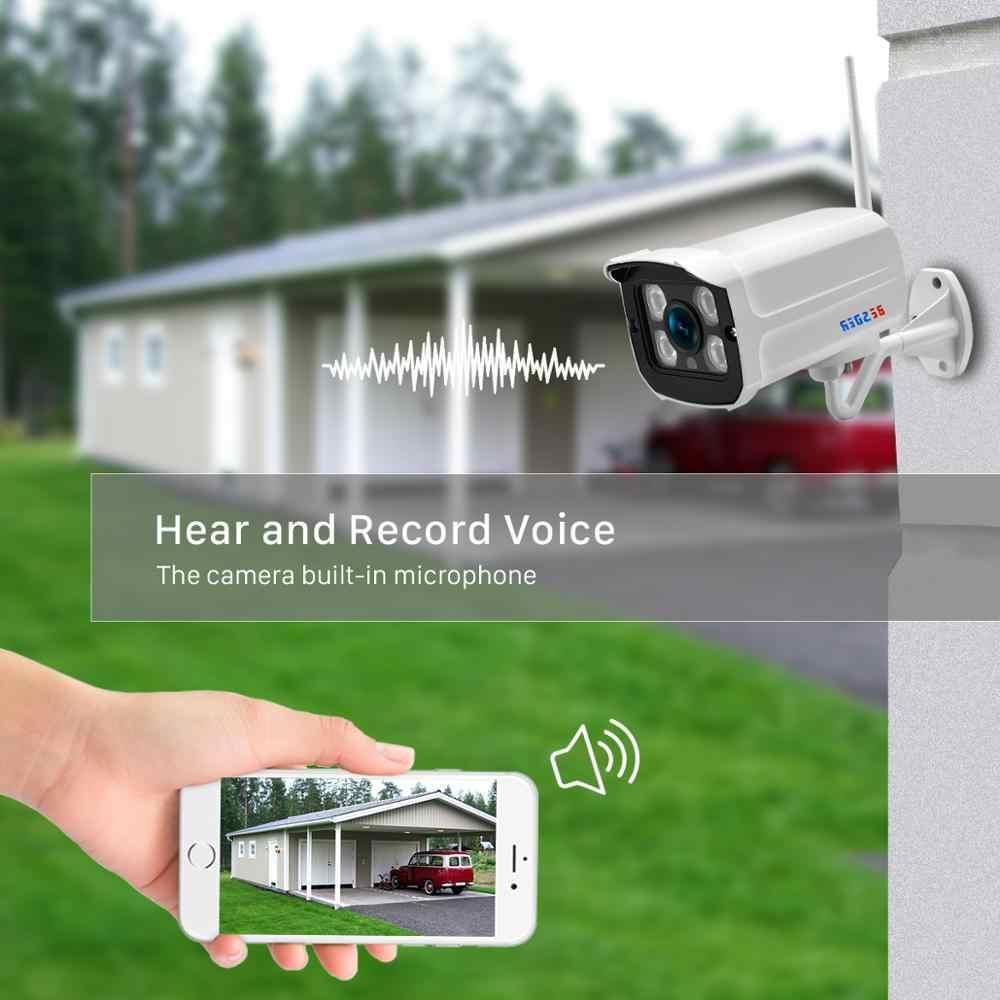 BESDER 1080P Filo e Wireless Audio IP Della Macchina Fotografica di IR 25m In Metallo Impermeabile IP66 onvif Sicurezza CCTV Wifi Della Macchina Fotografica con la Carta di TF Slot iCsee