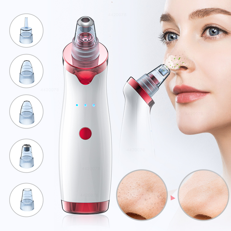 Blackhead Remover Face Deep Nose Cleaner T Zone Pore Acne Pimple Removal Vacuum Suction Facial Diamond Beauty Clean Skin Tool(China)