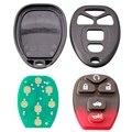 Novo 5 botão 315 mhz inteligente remoto carro chave fob apto para chevrolet hhr uplander buick terraza kobgt04a
