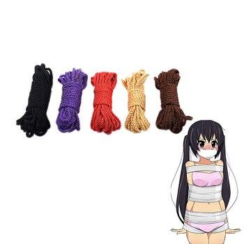 Shibari Natural Burrs Jute Rope Fetish bdsm Bondage Restraints Toys 10M Nylon  Decoration