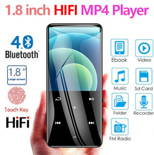 Hot Sale MP4 Player with Bluetooth Speaker Touch key 16GB-128GB HiFi Portable Walkman with FM Radio Recording Music Player