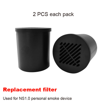 цена на Personal air filter Eliminates Smoke smell Replacement filter cartridge for Smoke Buddy Personal smoke Air Filter 2 pcs one set