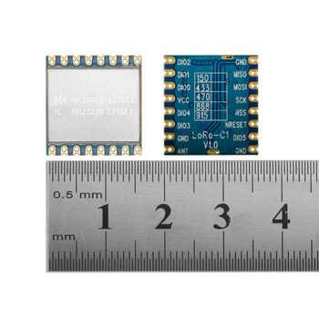 10pcs/lot lora1276-C1 FCC certified 915MHz 20dBm sx1276 chip long range 4Km RF Wireless LoRa Module