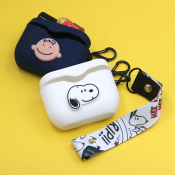 Cartoon Earphone Case With Hook for Sony WF-1000XM3 New Case Cover Wireless Bluetooth Earphone Cases Soft TPU Shell