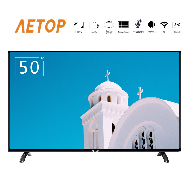 free shipping-high quality oled tv 4k 50 inch led screen televsion smart android tv with bluetooth
