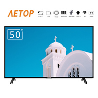 free shipping high quality oled tv 4k 50 inch led screen televsion smart android tv with bluetooth