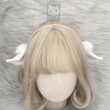 MMGG новые Arknights Eyjafjalla косплей костюм аксессуары милые светло-фиолетовые белые уши головной убор обруч для женщин и девочек