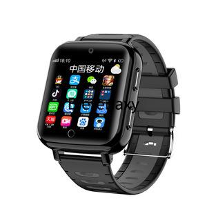 Image 2 - 4G Childrens smart watch  Android 6.1 phone kids Elder Heart Rate SmartWatch Voice Recorder Monitor with Sim Card wifi watches