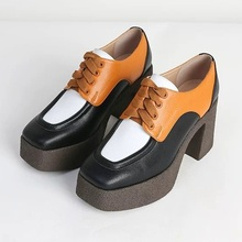 new 2020 brand genuine leather women high heels shoes pumps