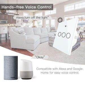 Image 3 - No Neutral Wire Needed WiFi RF433 Smart Wall Switch Smart Life Tuya Remote Control Single Fire Work with Alexa