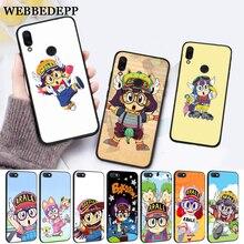 WEBBEDEPP Anime Dr. Slump Arale Little Girl Silicone Case for Xiaomi Redmi Note 4X 5 6 7 Pro 5A  Prime
