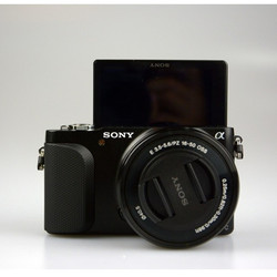 USED SONY ALPHA NEX-3N Interchangeable Lens with 16-50MM LENS Digital Camera Exmor APS HD CMOS OPTICAL