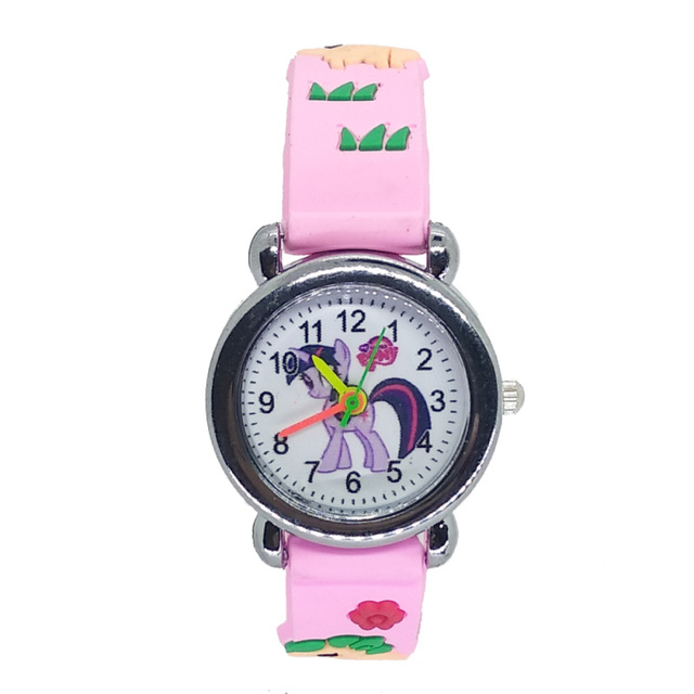 Giá bán Suitable for Children Aged 3-10 Using Childrens Watches Cartoon Unicorn Boys Girls Kids Wristwatch Gifts Clock Relogio Feminino