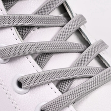 High Quality Elastic Shoelaces No Tie Shoe laces Outdoor Fashion Leisure Sneakers Lazy Simple Quick Flat lace 1 pair