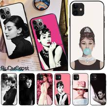LJHYDFCNB Audrey Hepburn Soft Phone Case Cover For iphone 5C 5 6 6s plus 7 8 SE 7 8 plus X XR XS MAX 11 Pro Max Cover motorcycle brake clutch levers for honda cbr600rr cbr 600 rr 2003 2004 2005 2006 cnc aluminum motorbike adjustable lever handle