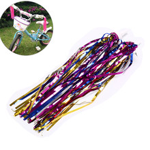 1 pair Handlebar Streamers Tassels Bike Bicycle Cycling Tricycle Kids Girls Boys(China)