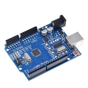Image 5 - TZT UNO R3 geliştirme kurulu ATmega328P CH340 CH340G Arduino UNO için R3 düz Pin başlığı ile kablo