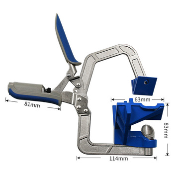 90 Degree Right Angle Clip Multifunctional Fixing Woodworking Right Fixing Tool Oblique Hole Screw Puncher Accessories
