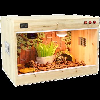 Reptilian Breeding Box Tortoise  Lizard Spider Palace Pet Incubator Hedgehog Hamster  Thermal Insulation Heating