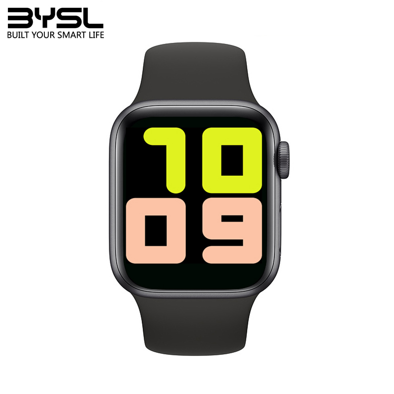 T500 Smart Watch 2020 Bluetooth Call 44mm DIY Faces HeartRate Monitor Blood Pressure SmartWatch IOS Android 1