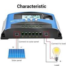 Контроллер заряда солнечной батареи двойной usb контроллер перегрузки
