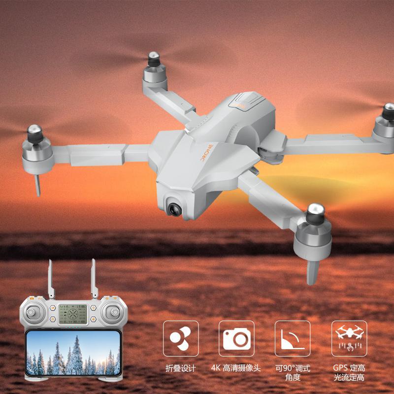 Дроны с GPS rccity GW90, 4K HD камера, регулируемый карданный подвес, бесщеточный, следуй за мной, Wi Fi, Квадрокоптер RC Dron VS ZEN K1 F11 SG906