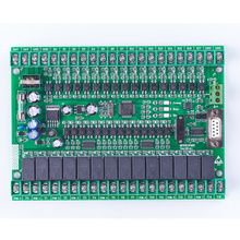 PLC119#   Single board  plc,FX2N 30MR  compatible for  Mitsubishi plc,STM32 MCU  16  input point  & 14 output point plc module apb 22egd dc12v 24v 14 points digital input 8 point npn transistor output