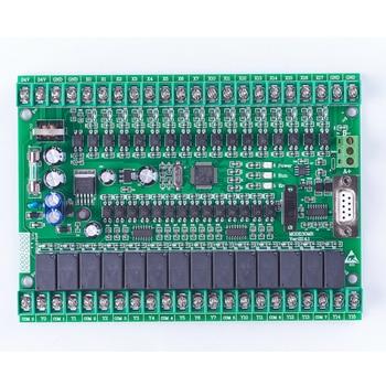 цена plc programmable logic controller single board plc FX2N 30MR online moniter plc,STM32 MCU 16 input 14 output онлайн в 2017 году
