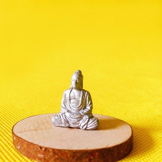 NEW~1Pcs Maitreya Buddha statue/fairy garden gnome/moss terrarium home decor/crafts/bonsai/bottle garden/miniature/figurine 3