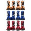 Новые Водонепроницаемые дождевые ботинки для домашних животных для маленьких, средних и больших собак, разные цвета на выбор, резиновые бот...