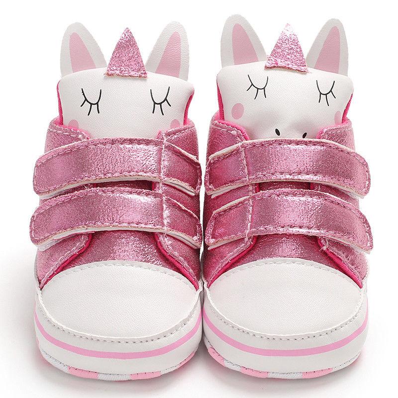 Winter Newborn Kids Baby Girl Boy Unicorn Snow Shoes Winter Soft Sole Prewalker Crib Plush Boots First Walkers  Baby Shoes Girls
