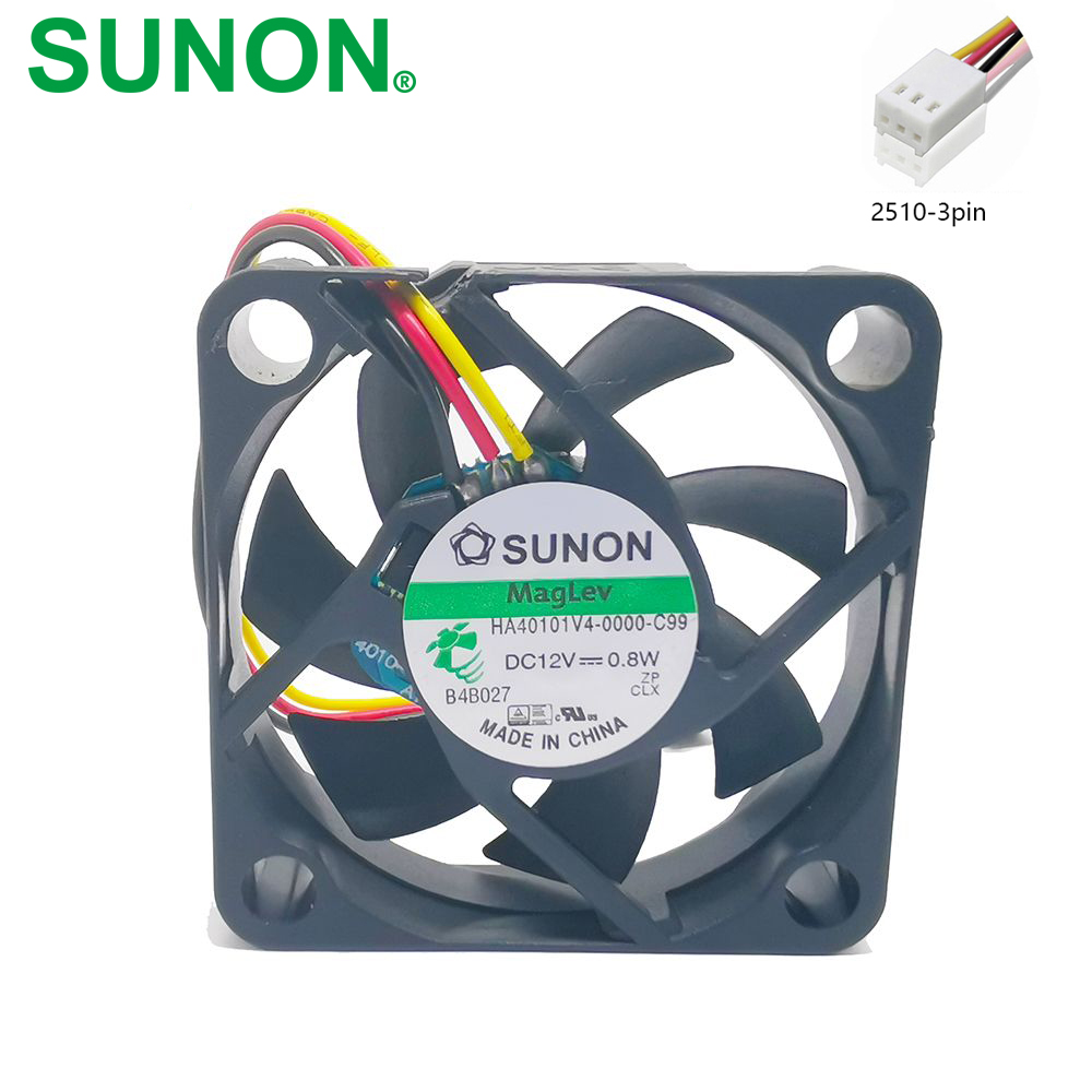 Sunon KD1204PKBX Fan 12V 1.6W 40*40*20mm 3Pin