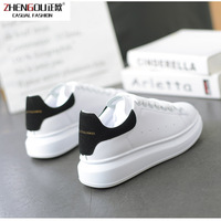 zhengou Panya Men And Women Lovers Tidal With Thick Soles Basics Leisure Time Sneakers GirlsMcqueen shoes woman white