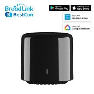 Image 1 - Broadlink mando a distancia Bestcon RM4C Mini, Universal, IR, 4G, WiFi, IR, funciona con asistente de Google, Alexa, automatización inteligente del hogar