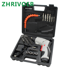 Mini electric screwdriver, rechargeable screwdriver, lithium battery driver, positive and reverse speed regulating hand drill