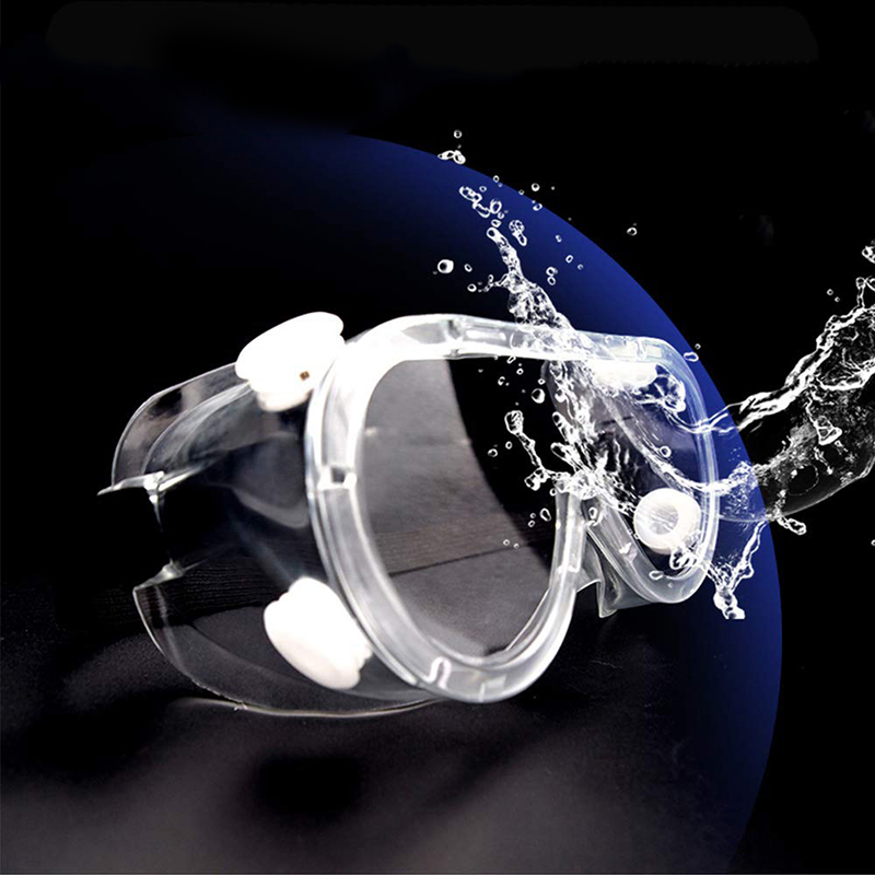 1x PVC Motorcycle goggles Anti-fog Windshield Glasses Anti-splash Motor protective gear