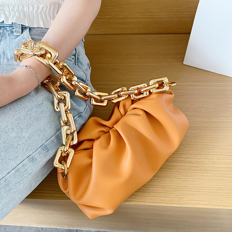 Bag For Women Cloud bag Soft Leather Hobos Bag Single Shoulder Purse Women Crossbody Bag Luxury Handbag And Purse Day Clutches|Shoulder Bags| - AliExpress
