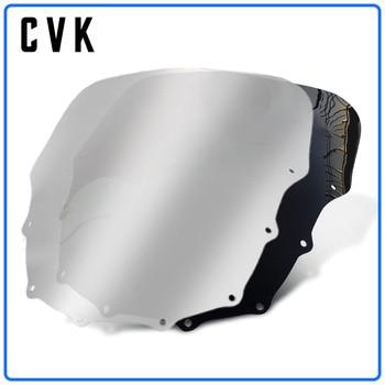 цена на CVK Motorcycle Windshield Windscreen For KAWASAKI ZZR400 ZZR600 ZZR 400 600 1993 1994 1995 1996 1997 1998 1999 2000 2001-2007