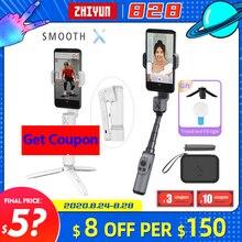 Zhiyun lisse X XS Smartphone cardan poche stabilisateur Sefie Stick pour iPhone11Pro/Max pour Android Samsung VS lisse 4
