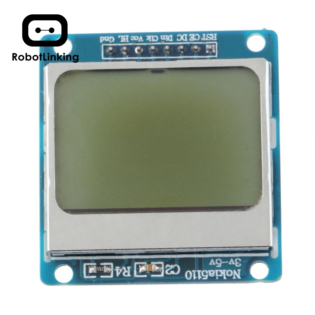 High Quality 84*48 84x84 LCD Module Blue Backlight Adapter PCB For Nokia 5110 For Arduino