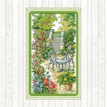 Joy Sunday Cross-stitch for Needlework Printed Canvas Embroidery Kit 14ct 11ct Aida Fabric Cross Stitch DMC DIY Hand Crafts