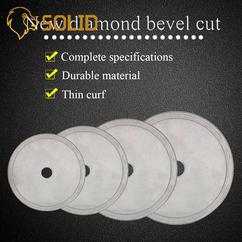 Thin Diamond Lapidary Saws 110/150/180/200mm Trim Blade Edge Wet Cutting Disc Jewellery Tools For Glass Stone 20/25mm Bore