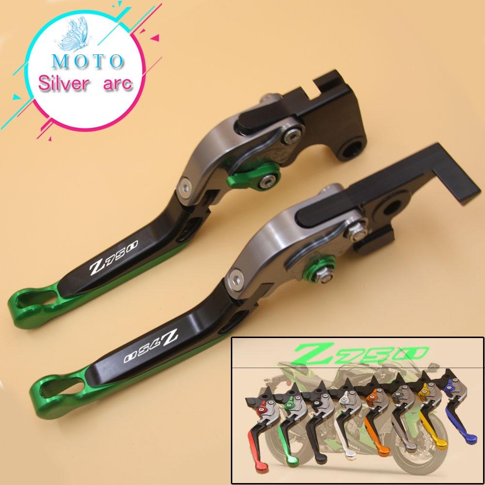 CNC 3D Long Brake Clutch levers for Kawasaki Z750 2007-2012 Z800//E version 13-14