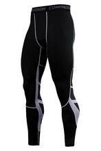 Pantalones de compresión para hombre, mallas deportivas para entrenamiento, correr, gimnasio, correr